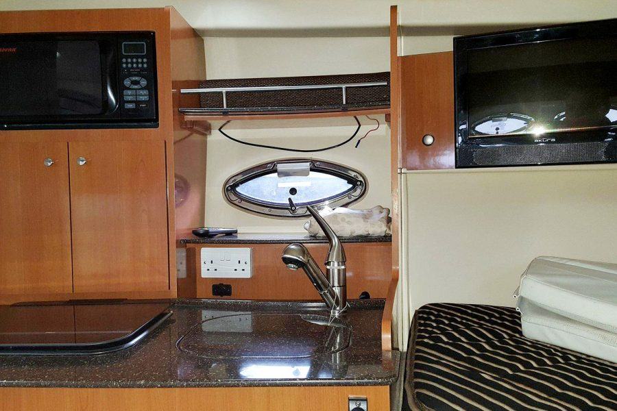 Maxum 2900se - galley in cabin