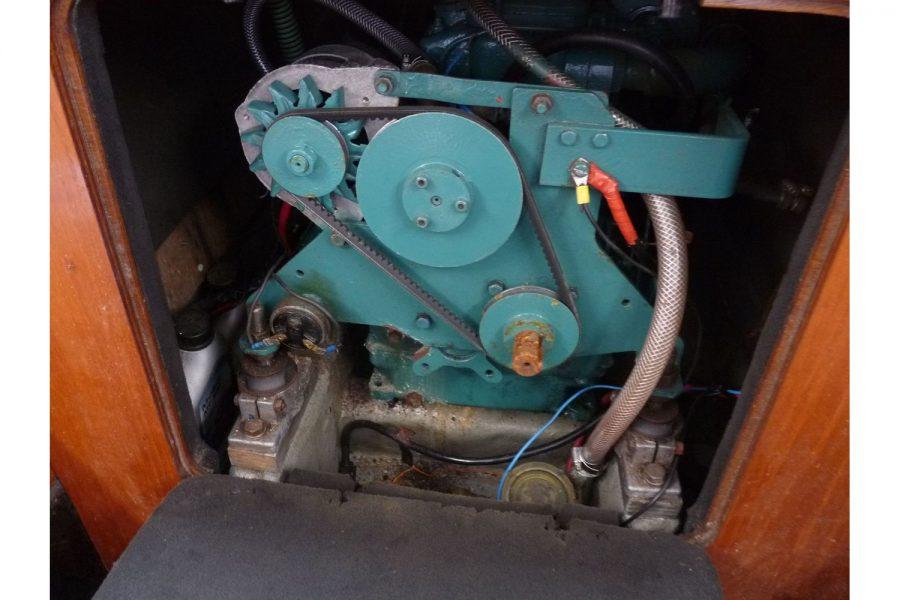 Egythene 24 - Petter Mini 6HP diesel inboard