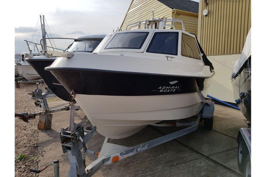 Pro-Fish 660 - port side bow