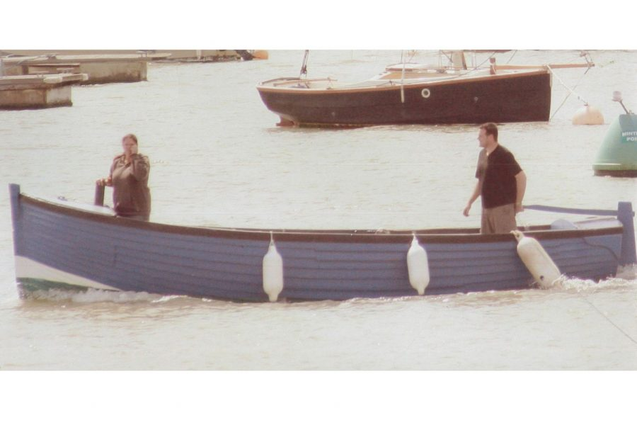 Whitstable Open Launch - on the water