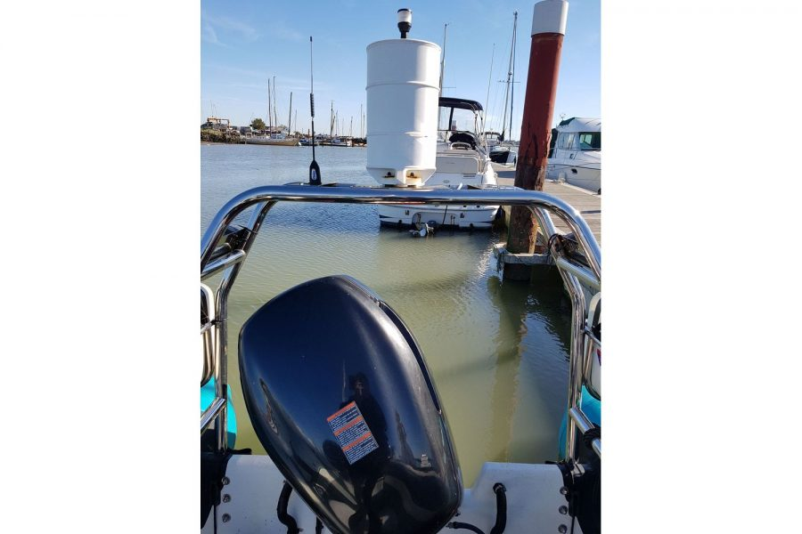 Ribcraft 7.8 - outboard and A frame