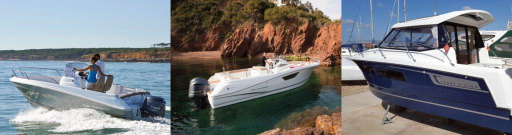 Boats and beautiful surroundings