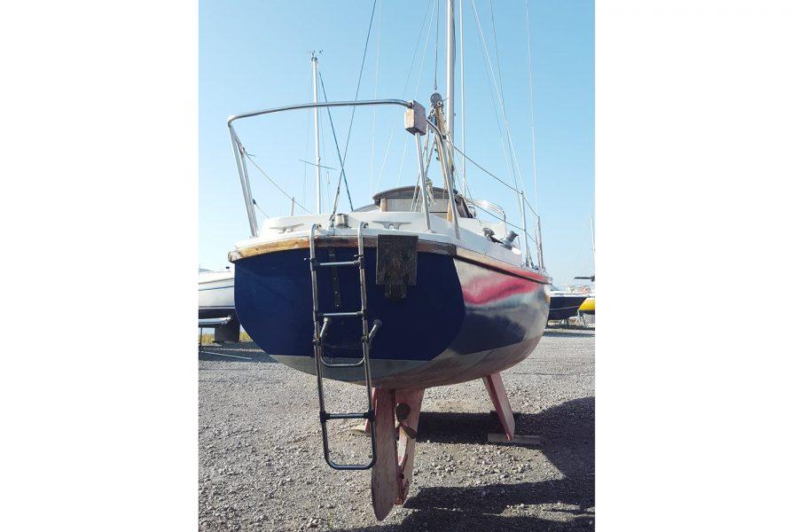 Atlanta Viking 8.5 Yacht - transom and ladder