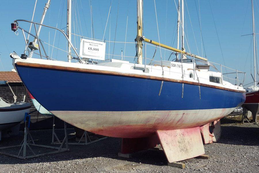 Atlanta Viking 8.5 Yacht - port side