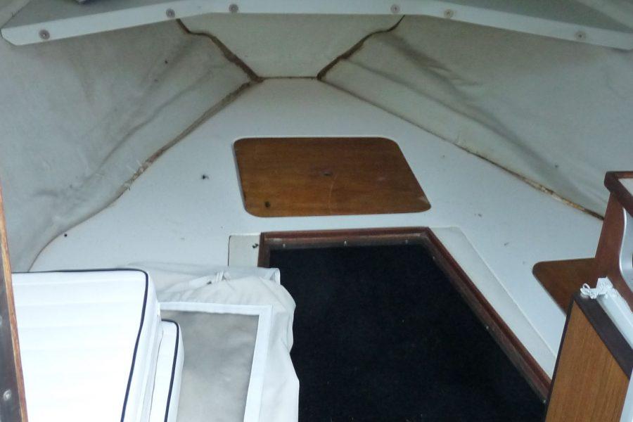 Sunseeker Portofino XPS 21 - cabin