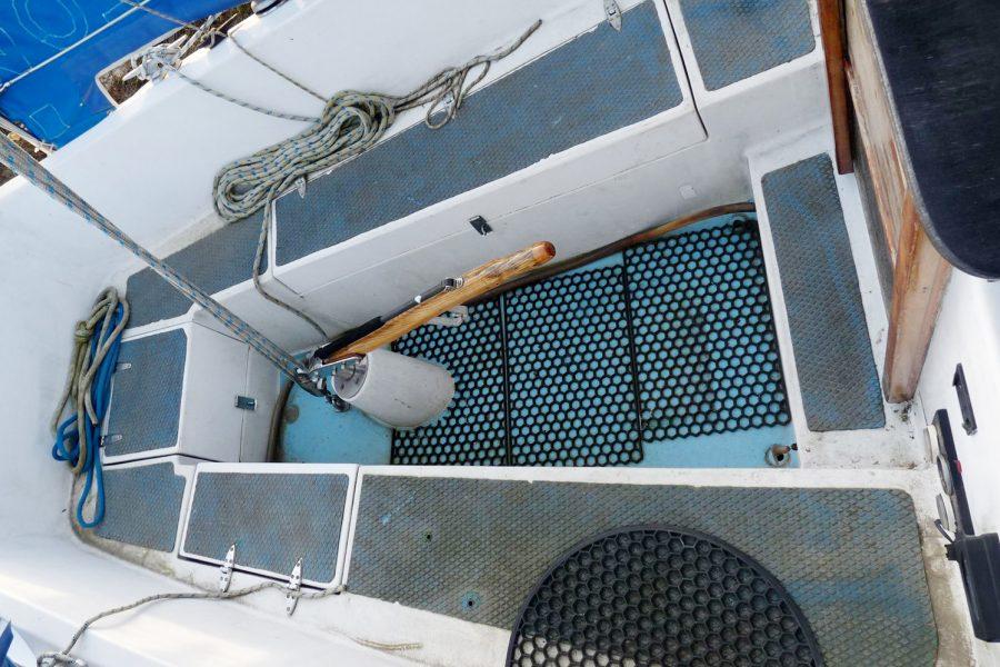 Atlanta Viking 8.5 Yacht - cockpit area