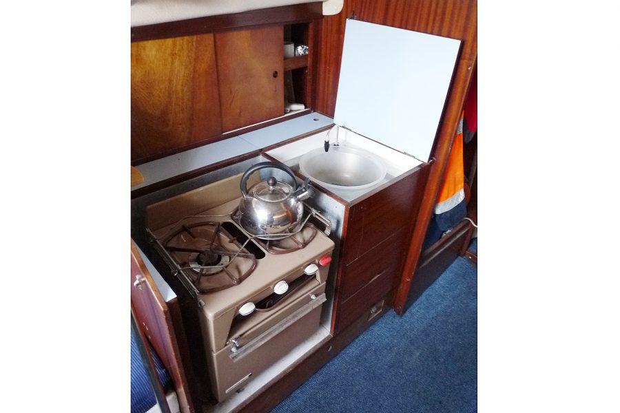 Atlanta Viking 8.5 Yacht - galley
