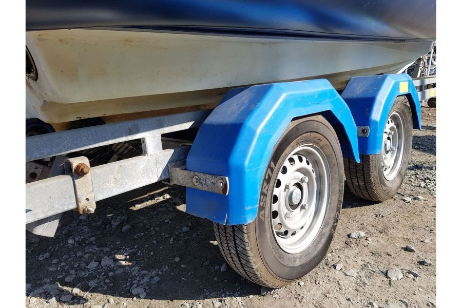 Porters 6.5m RIB - 4 wheel trailer