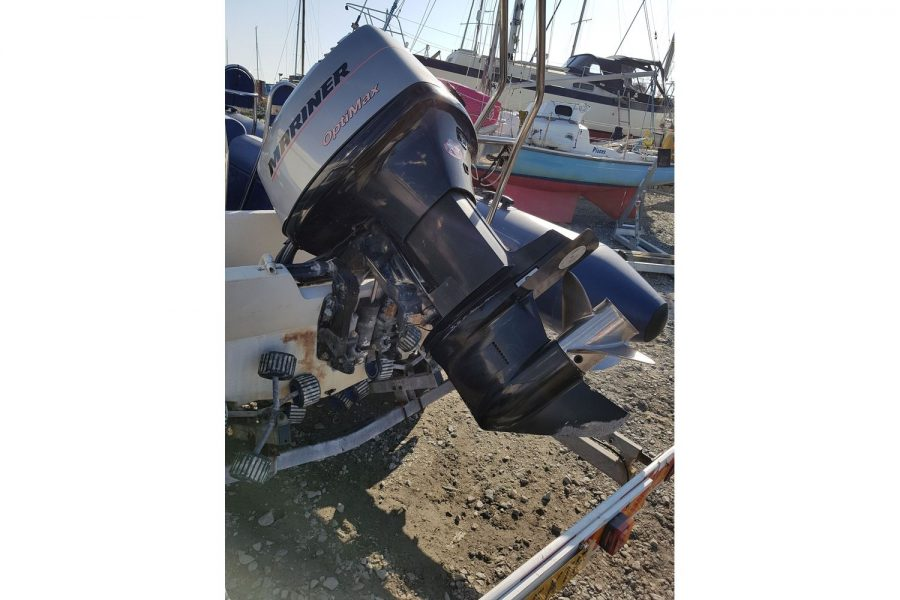 Porters 6.5m RIB - Mariner 150hp outboard