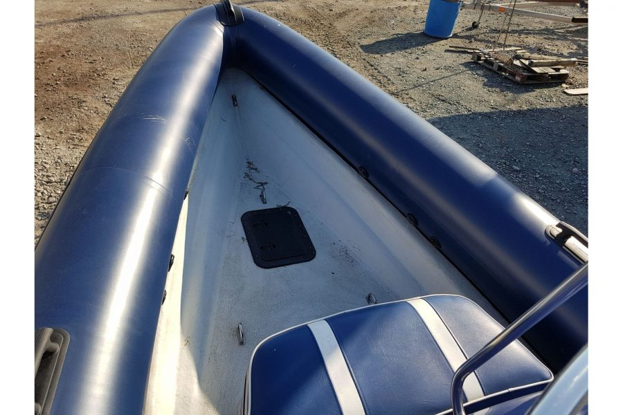 Porters 6.5m RIB - bow