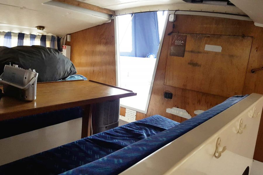 Sailing catamaran - interior 2