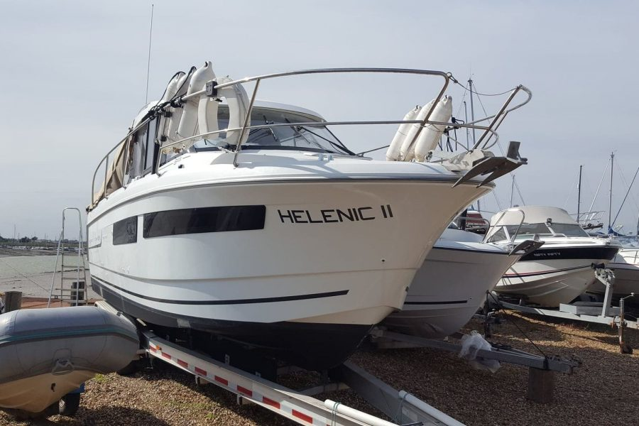 Jeanneau Merry Fisher 855 - starboard bow