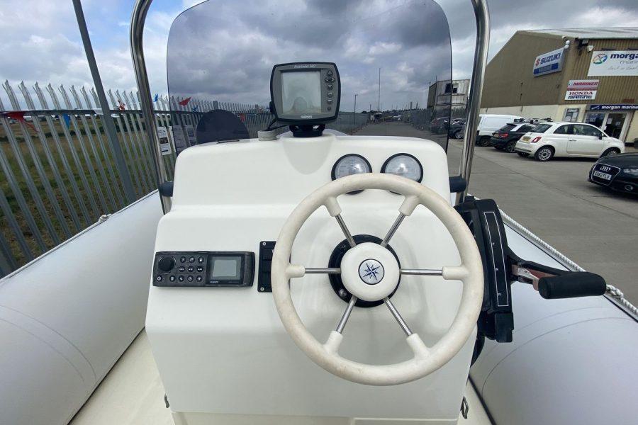 Bombard Explorer SB 640 RIB-wheel