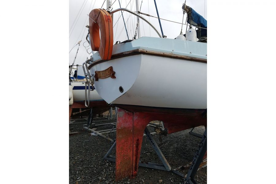 Sabfre 27 - rudder and shaft drive
