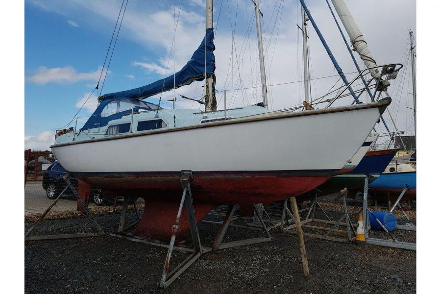 Sabfre 27 - starboard side