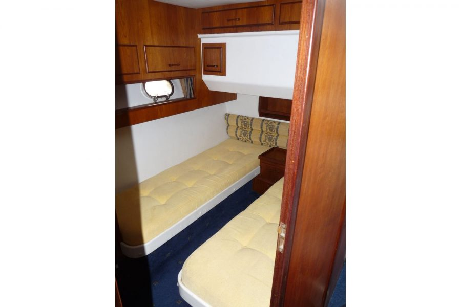 Fairline 36 Sedan - 2nd cabin