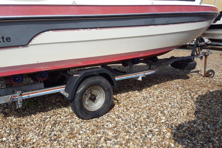Marine Cruisette - 2 wheel trailer