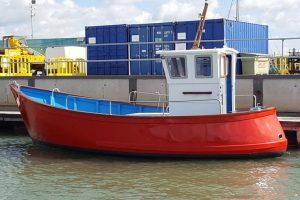 Island Plastic 23 (IP23) Fishing Boat