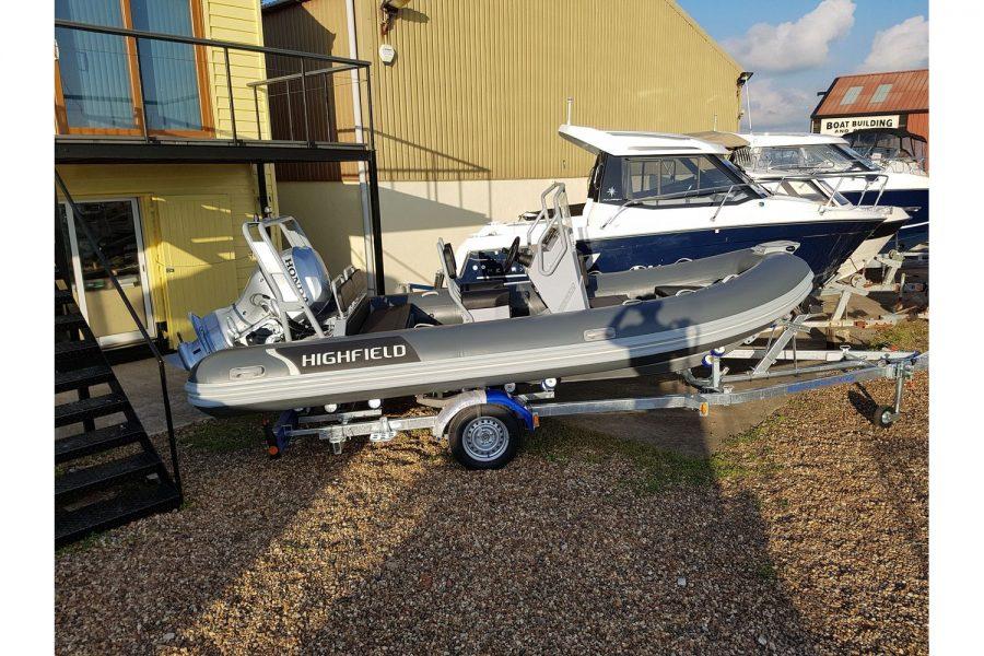 Highfield Ocean Master 540 DL RIB - starboard side