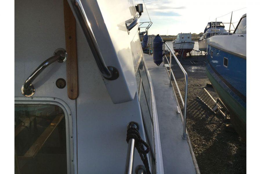 Narvalo 33 - side deck