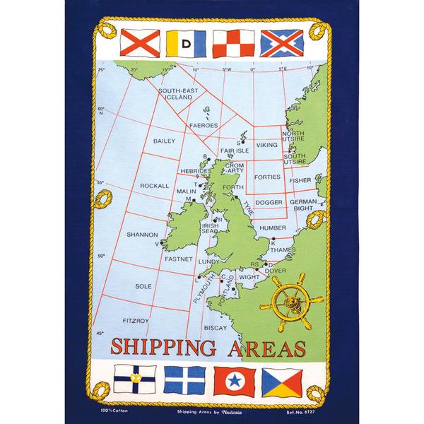 Nauticalia Tea Towels - £7.99 or £15 for two