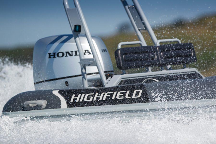 Highfield DL 590 aluminium RIB