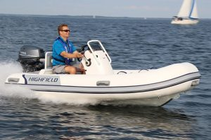 Highfield CL 380 Aluminium RIB with Honda BF 20 SRTU