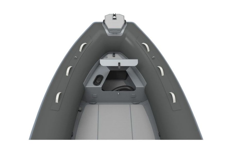 Highfield DL 640 aluminium RIB - bow locker