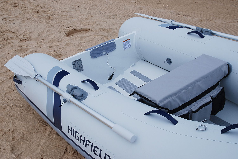 Highfield UL 260-aluminium-RIB - transom