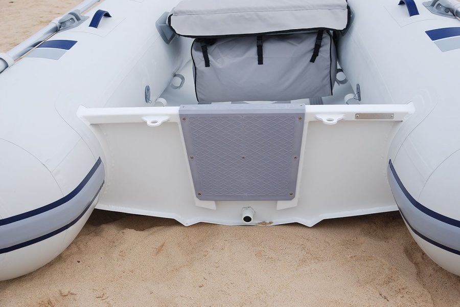 Highfield UL 260-aluminium-RIB - transom and seat
