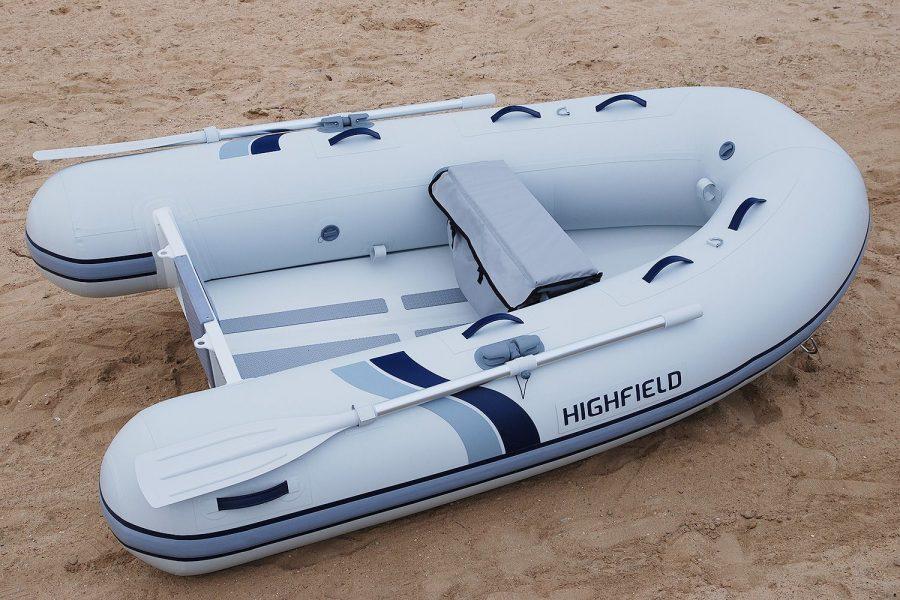 Highfield UL 260-aluminium-RIB - overall view
