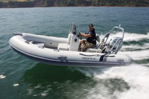 Highfield DL 420 Aluminium RIB with Honda BF 50 LRTU