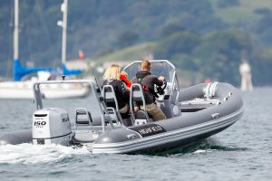 Highfield DL 500 Aluminium RIB with Honda BF 80 LRTU