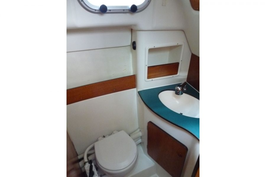 Jeanneau Merry Fisher 805 - toilet compartment
