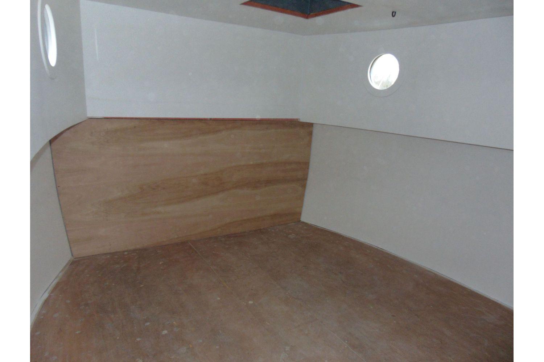 50ft steel barge - interior