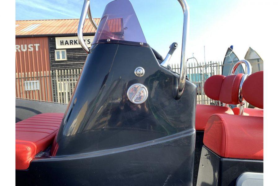 Gemini Waverider 600 RIB - console