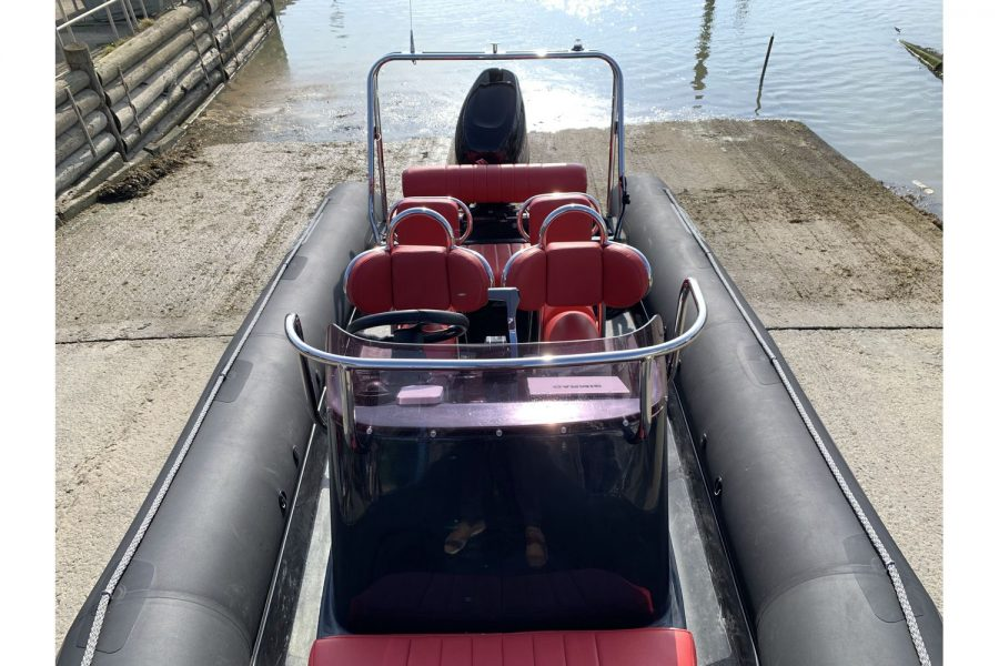 Gemini Waverider 600 RIB - view from bow
