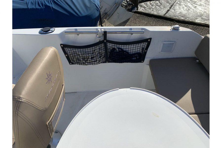 Jeanneau Cap Camarat 5.5 WA - side nets