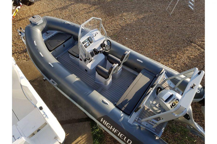 Highfield OM 540 aluminium RIB
