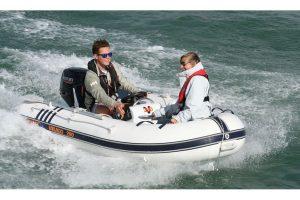 Excel Virago 290 Aluminium hull – mini RIB