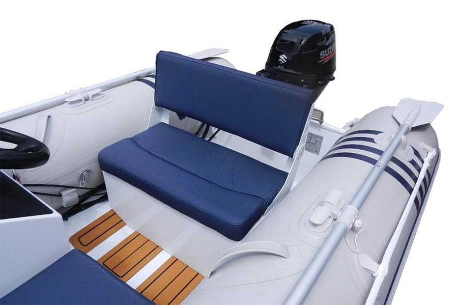 Excel Virago 290 mini RIB - aft seat