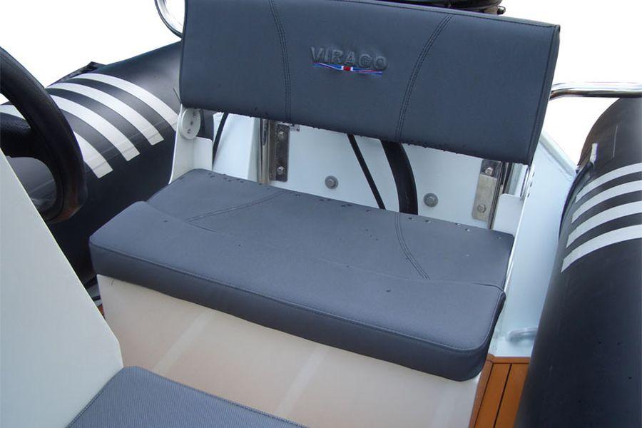 Excel Virago 350 - aft seat