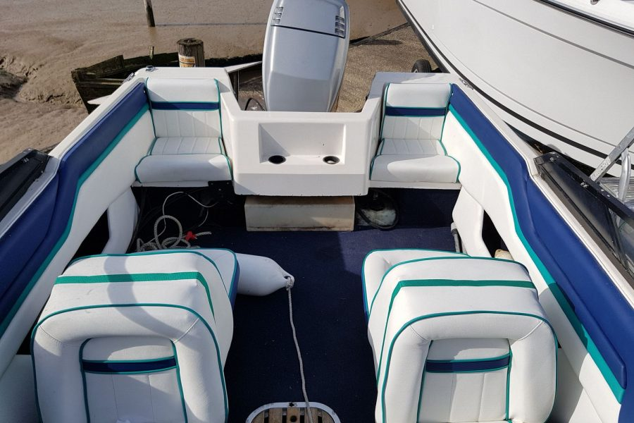 Sunbird SPL 171 - view from bow to stern