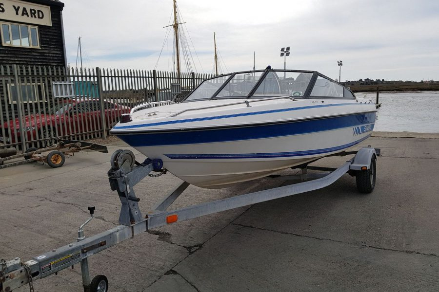 Sunbird SPL 171 - on Morgan Marine slipway