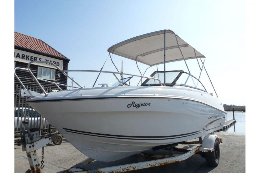 Jeanneau Cap Camarat 6.5BR - port side bow