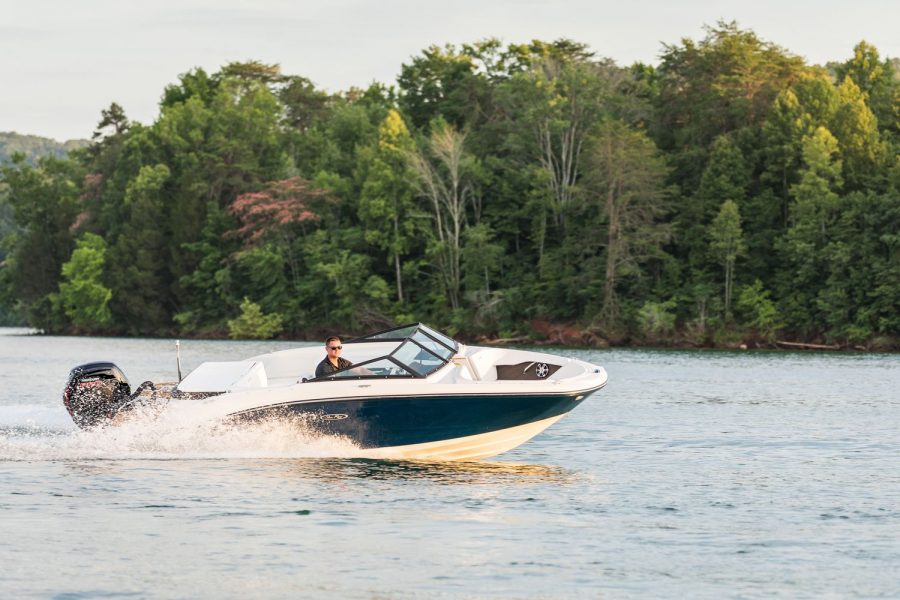 Sea Ray SPX 190 OB - on the water