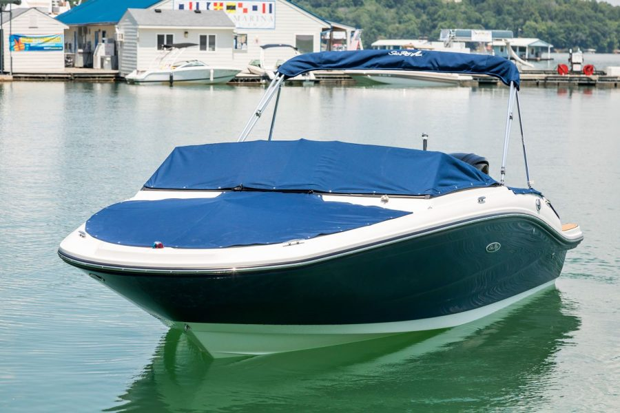 Sea Ray SPX 190 OB - mooring cover