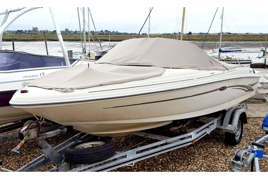 Sea Ray 176 - bow and cockpit tonneau covers