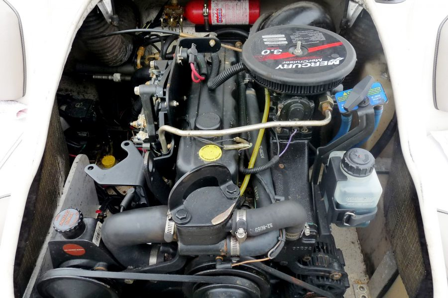 Sea Ray 176 - MerCruiser 3.0L engine