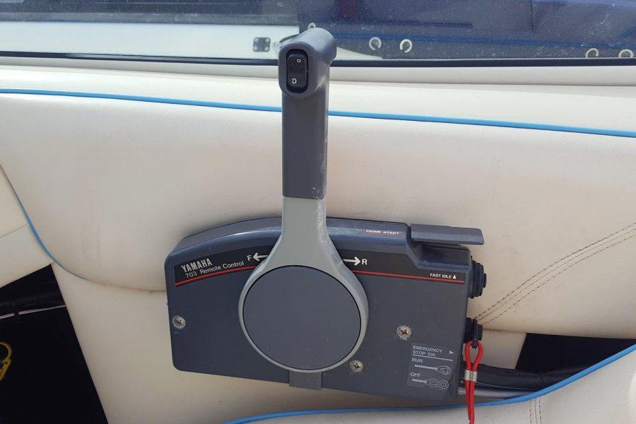 Fletcher Arrowflash 15 GTO - engine controls